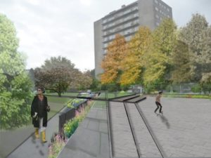 Réaménagement place Bruxelles   Geneviève Errembault, architecte paysagiste - landscape designer Bruxelles