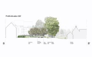 Réaménagement d'un immeuble voisin à la Ferme du Douaire à Ottignies   Geneviève Errembault