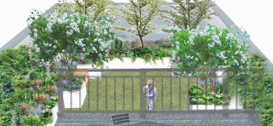 4 options pour l'aménagement d'un jardin de 35 m²
